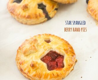 Star Spangled Berry Hand Pies {Farmer's Market Friday}