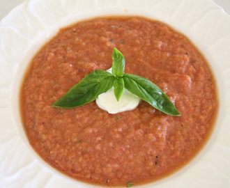 Frances' Summer Tomato Soup