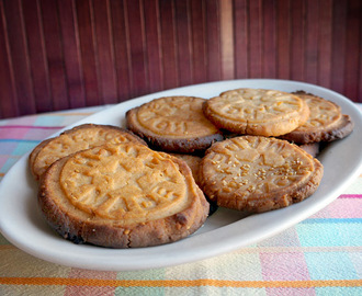 Galletas de arroz y sésamo