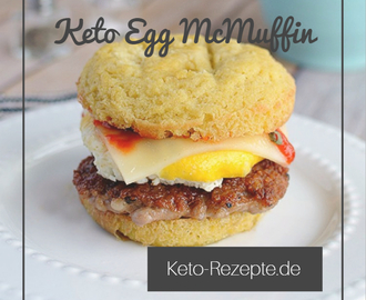 Keto Egg McMuffin