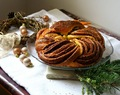 Vijenac s cimetom/ Cinnamon braided wreath