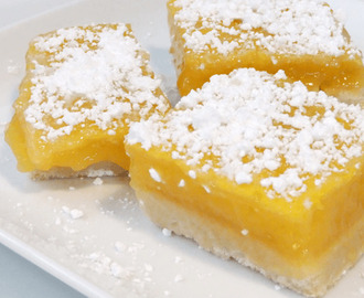 Lemon bars – barrette al limone