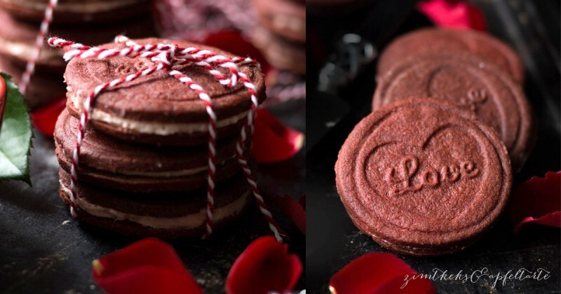 Red Velvet Oreo Cookies – Cookie Friday with Zimtkeks & Apfeltarte