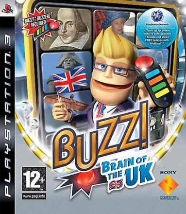 PlayStation 3 Buzz! Hjärnan i Förenade kungariket (PS3)