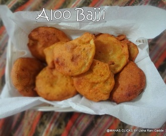 Aloo bajji/Spicy Potato deep fried fritters/bangaladumpa bajji/Easy evening Indian deep fried snacks/step by step pictures/