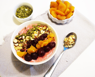 Smoothie bowl - en flott start på dagen!