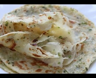 green onion paratha/Chinese green onion pancake 蔥油餅 - soft layered-- Cooking A Dream - YouTube