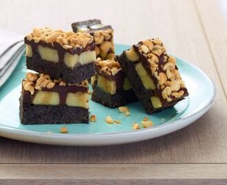 No-Bake Peanut Butter Banana Bars