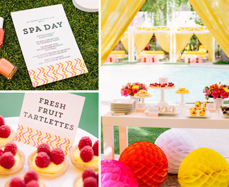 DIY Network Spa Baby Shower with The TomKat Studio