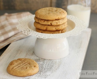 Old Fashioned Peanut Butter Cookies from Beach House Baking