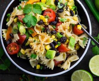 Veganer Nudelsalat – Mexican Style