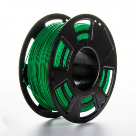 PLA filament til 3D printer, 1 kg, 1,75 mm. Grön