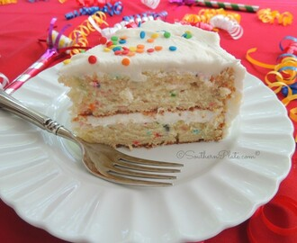 Easy Peasy Birthday Cake From Scratch (and how SouthernPlate Hatched)