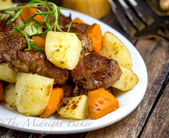Slow Cooker Maple Roasted Pork with Potatoes