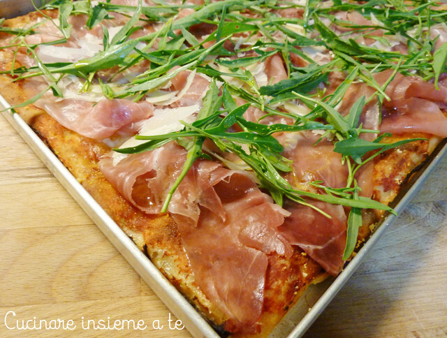 PIZZA IN TEGLIA DI FARRO INTEGRALE