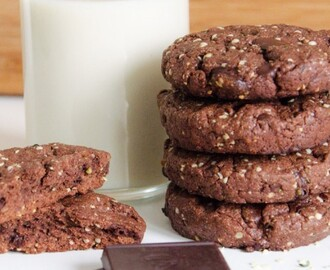 Vegan Chocolate Hemp Cookies – Cookie Friday with Vegold