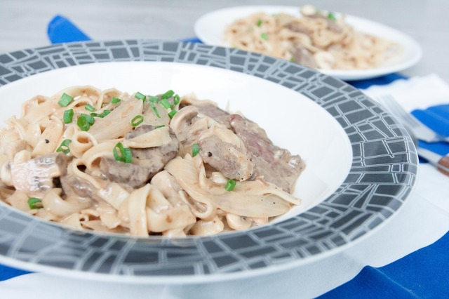 Beef Stroganoff - I Shall See You Again Very Soon