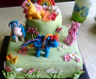 Torta My Little Pony sa suvim voćem