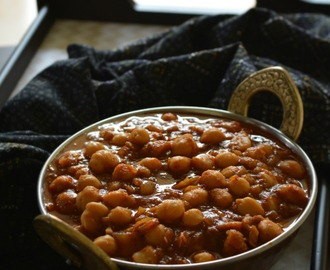 Channa Masala for Bhature | Chole side dish for Bathure