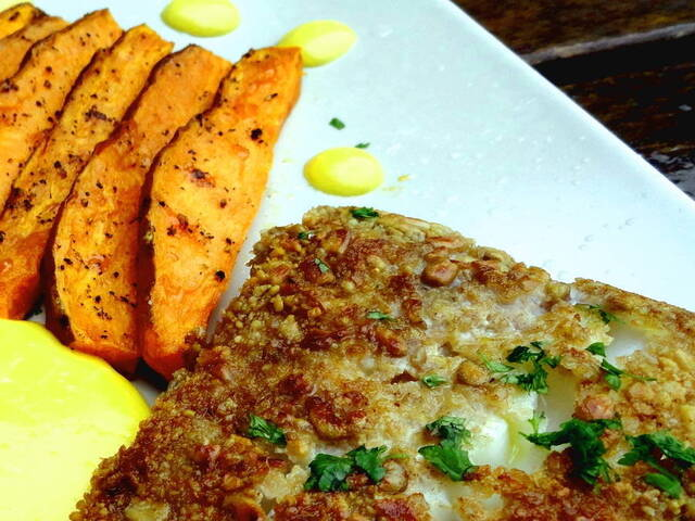 Fish and Chips - Paleo