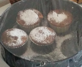 muffin yogurt e cioccolato