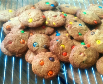 Recept: Chocolate Chip Cookies med M&M