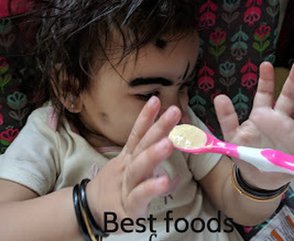 Best foods for baby that are easy to digest