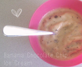 Banana Chocolate Chip - Ice Cream