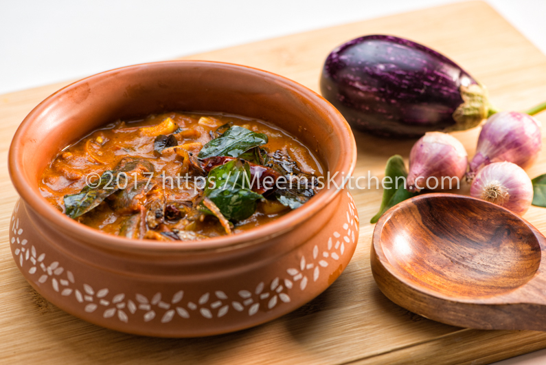 brinjal curry without coconut for rice recipes mytaste