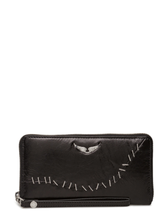 Compagnon Staples Bags Card Holders & Wallets Wallets Svart ZADIG & VOLTAIRE