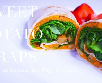 Vegan Sweet Potato Wraps