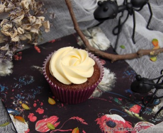 Cupcakes de chocolate y naranja #talkingtables