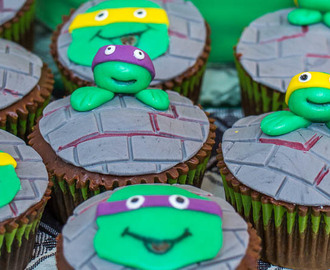 Coole Turtle-Muffins mit Turte-Torte backen, so geht's