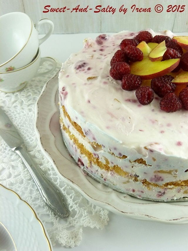 Voćna sladoled torta / Ice-cream Fruit Cake
