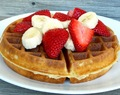 The BEST Fluffy Buttermilk Belgian Waffles