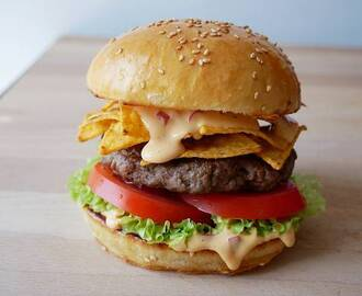 Nacho Cheeseburger