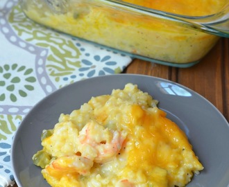 Shrimp and Rice Casserole Bake