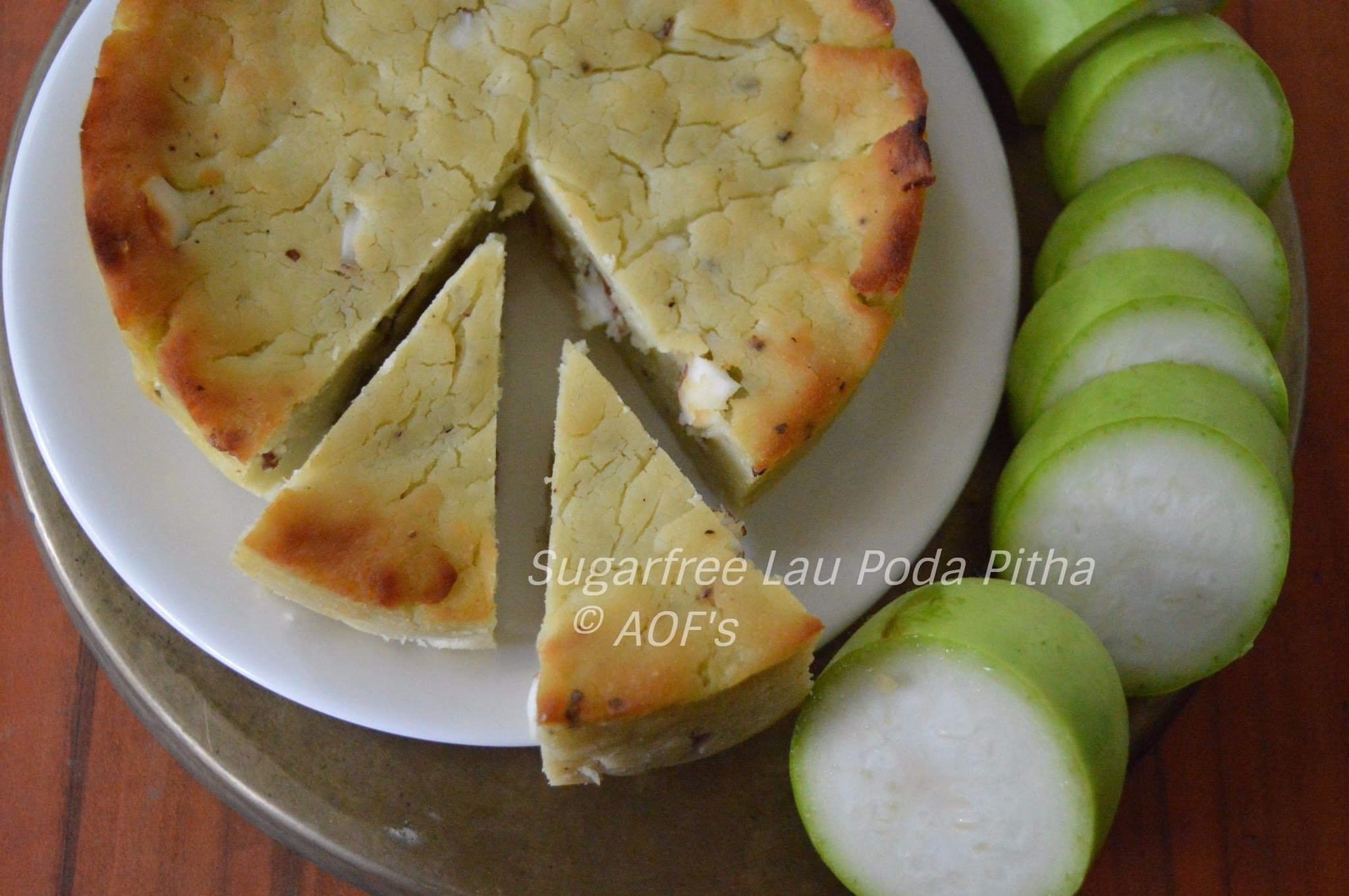 Sugarfree Lau Poda Pitha