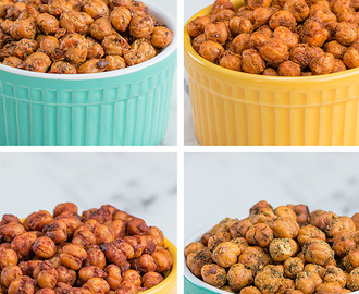 ROASTED CHICKPEAS 4 WAYS