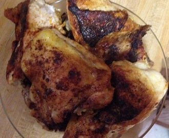 A Chicken Dinner Thanks to Bobby Flay – Pan-Roasted Chicken with Mint Sauce