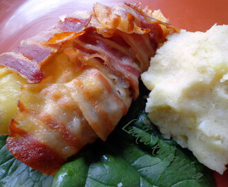 Smotuljci s kotletima, pancetom i sirom :: Pork chops, pancetta and cheese parcels