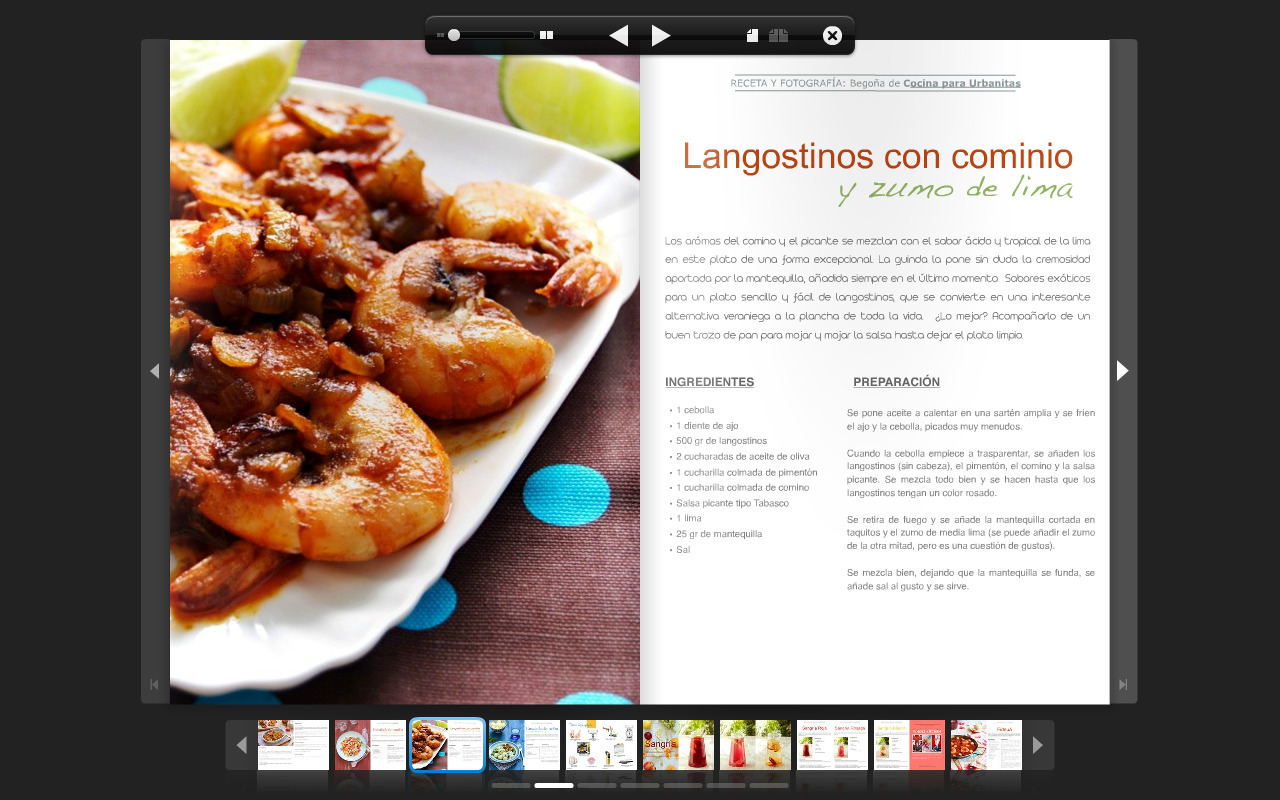 Colaboración en la revista Whole Kitchen y cosas de comer