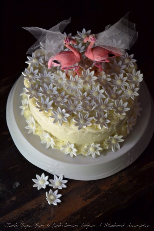 Raspberry Lemon Cake with Italian Buttercream