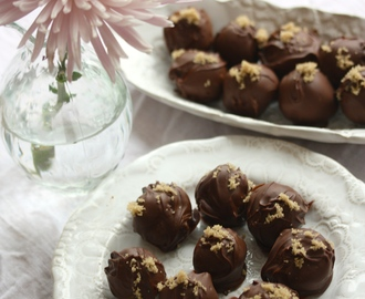 Chocolate Chip Cookie Dough Truffles – Chocolate Chip Cookie Dough Tryfflar