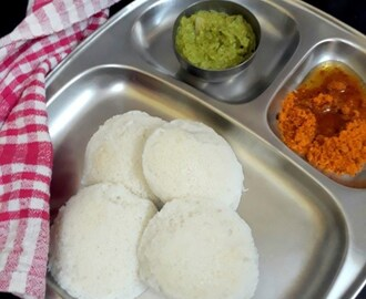 Malligai Idli | How to make Kushboo Idli