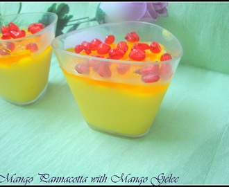 3 Ingredients Mango Pannacotta