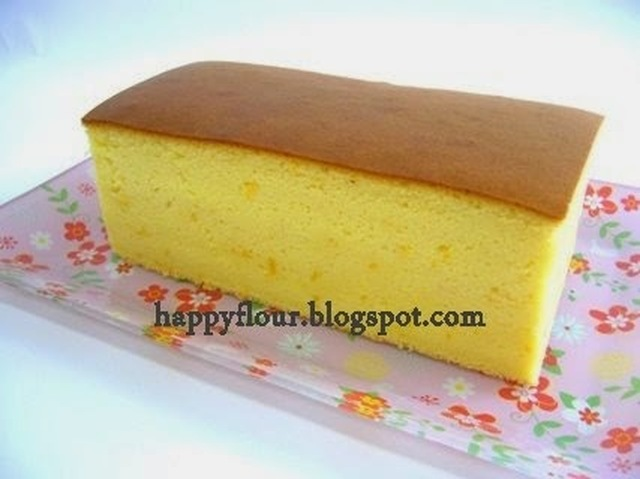 Orange Castella Cake
