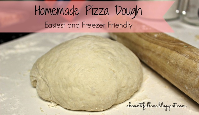 Homemade Pizza Dough ( Easiest and Freezer Friendly )