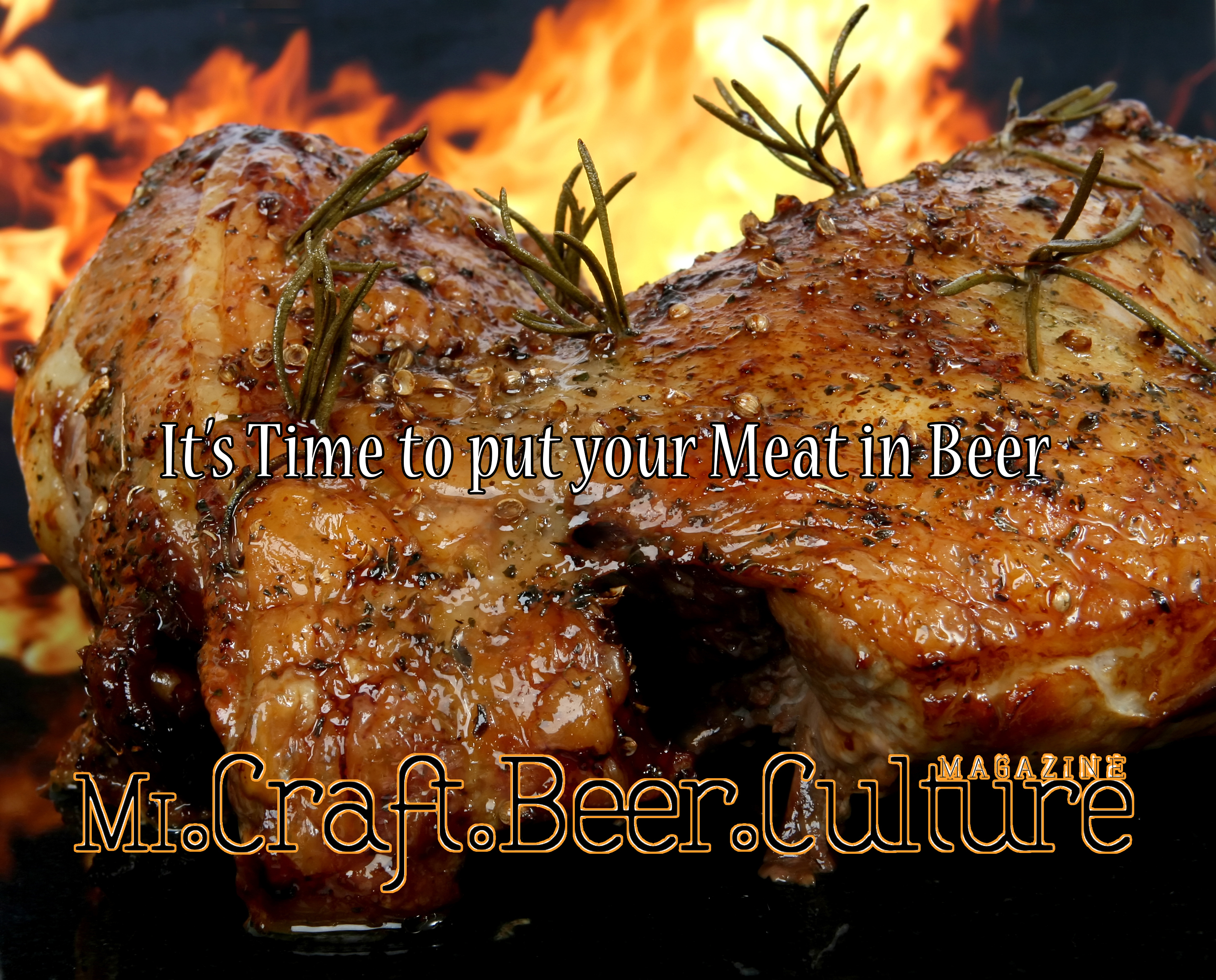 It's Time to put your Meat in Beer