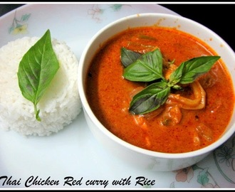 Thai Chicken Red Curry (Kaeng Phet Gai )
